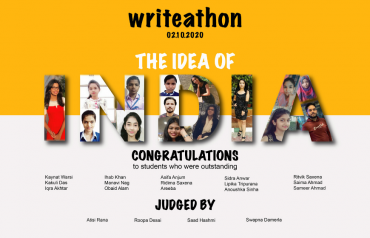 Announcement of writeathon winners
